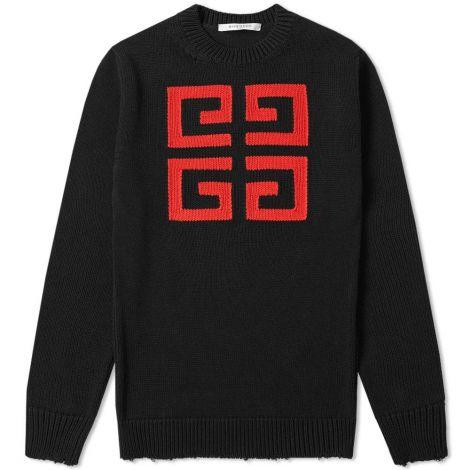 Givenchy Sweatshirt Jacquard Siyah #Givenchy #Sweatshirt #GivenchySweatshirt #Erkek #GivenchyJacquard #Jacquard