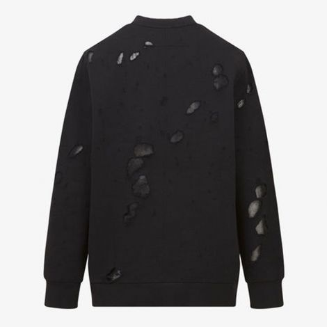 Givenchy Sweatshirt Destroyed Siyah #Givenchy #Sweatshirt #GivenchySweatshirt #Kadın #GivenchyDestroyed #Destroyed