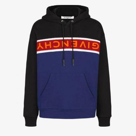 Givenchy Sweatshirt Towelling Siyah #Givenchy #Sweatshirt #GivenchySweatshirt #Erkek #GivenchyTowelling #Towelling