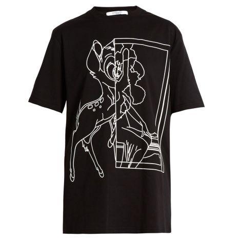 Givenchy Tişört Bambi Siyah #Givenchy #Tişört #GivenchyTişört #Kadın #GivenchyBambi #Bambi