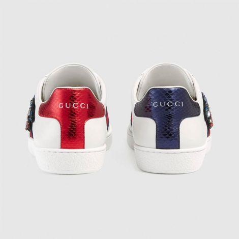 Gucci Ayakkabı Ace Snake Beyaz #Gucci #Ayakkabı #GucciAyakkabı #Kadın #GucciAce Snake #Ace Snake
