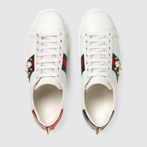 Gucci Ayakkabı Ace Sneakers Beyaz #Gucci #Ayakkabı #GucciAyakkabı #Kadın #GucciAce Sneakers #Ace Sneakers
