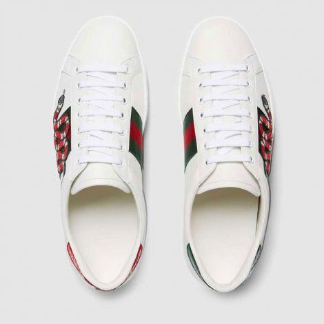 Gucci Ayakkabı Ace Snake Beyaz #Gucci #Ayakkabı #GucciAyakkabı #Erkek #GucciAce Snake #Ace Snake