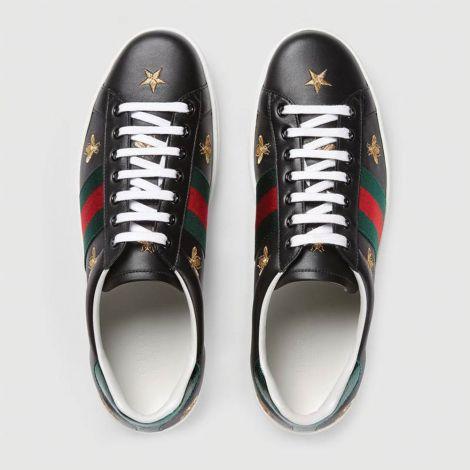 Gucci Ayakkabı Ace Bee Star Siyah #Gucci #Ayakkabı #GucciAyakkabı #Erkek #GucciAce Bee Star #Ace Bee Star