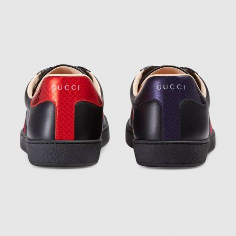 Gucci Ayakkabı Ace Bee Siyah - Gucci Ace Embroidered Sneaker Siyah