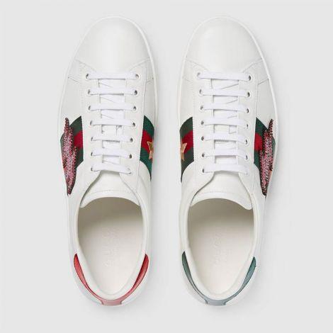 Gucci Ayakkabı Ace Flash Beyaz #Gucci #Ayakkabı #GucciAyakkabı #Kadın #GucciAce Flash #Ace Flash