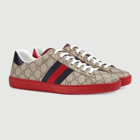 Gucci Ayakkabı Ace GG Kırmızı #Gucci #Ayakkabı #GucciAyakkabı #Erkek #GucciAce GG #Ace GG