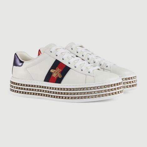 Gucci Ayakkabı Ace Bee Beyaz #Gucci #Ayakkabı #GucciAyakkabı #Kadın #GucciAce Bee #Ace Bee