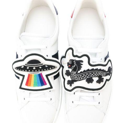 Gucci Ayakkabı Ace UFO Beyaz #Gucci #Ayakkabı #GucciAyakkabı #Kadın #GucciAce UFO #Ace UFO