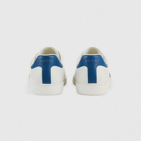 Gucci Ayakkabı Tennis Beyaz - Gucci Ayakkabi 2020 Erkek Mens Ace Sneaker With Gucci Tennis Mavi Beyaz