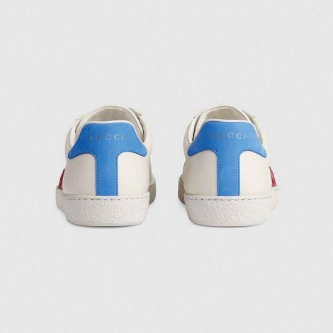 Gucci Ayakkabı Interlocking Beyaz - Gucci Ayakkabi 2020 Erkek Mens Ace Sneaker With Interlocking G Beyaz
