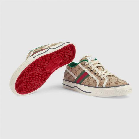 Gucci Ayakkabı Tennis 1977 Bej - Gucci Ayakkabi 2021 Mens Gg Gucci Tennis 1977 Sneaker Beige Bej