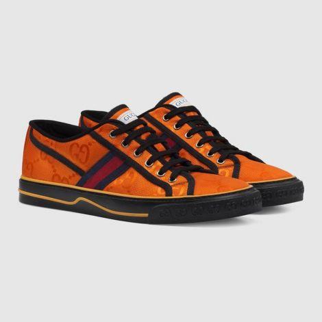 Gucci Ayakkabı Off The Grid Turuncu - Gucci Ayakkabi 2021 Mens Gucci Off The Grid Sneaker Orange Turuncu