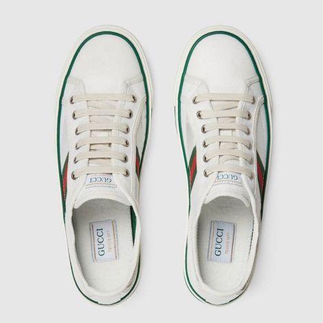 Gucci Ayakkabı Tennis 1977 Beyaz - Gucci Ayakkabi 2021 Mens Gucci Tennis 1977 Sneaker White Beyaz