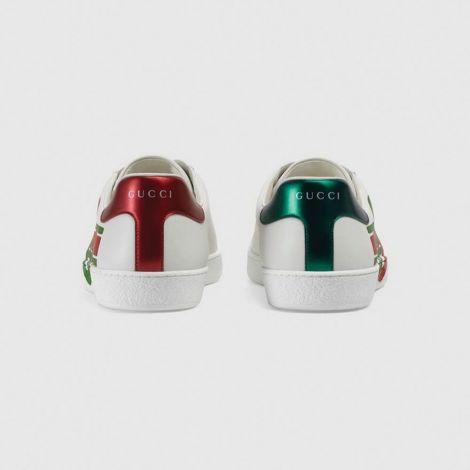 Gucci Ayakkabı Interlocking Beyaz - Gucci Ayakkabi Erkek 2020 Ace Sneaker With Interlocking G Beyaz