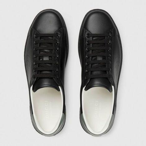 Gucci Ayakkabı Interlocking Siyah - Gucci Ayakkabi Erkek 2020 Mens Ace Sneaker With Interlocking G Siyah