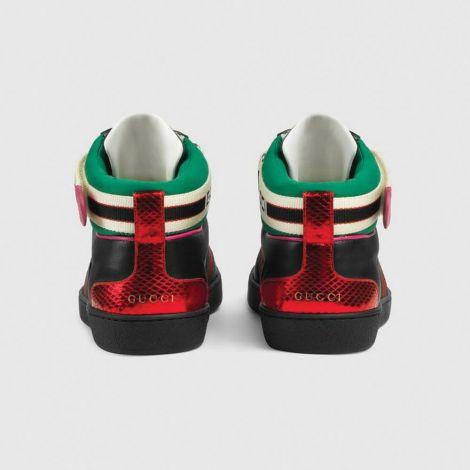 Gucci Ayakkabı Ace Stripe Siyah #Gucci #Ayakkabı #GucciAyakkabı #Erkek #GucciAce Stripe #Ace Stripe