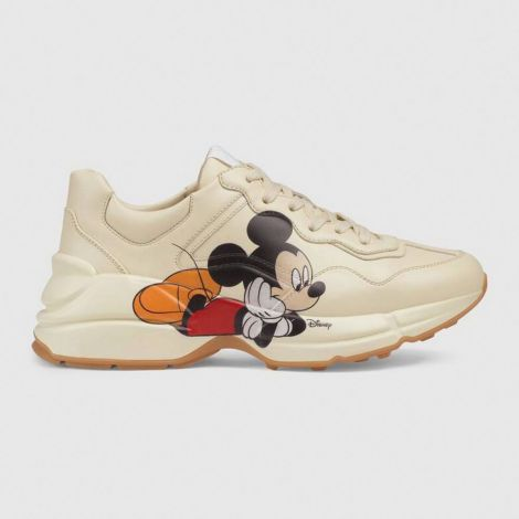 Gucci Ayakkabı Disney Beyaz - Gucci Ayakkabi Kadin 2020 Disney X Gucci Rhyton Sneaker Beyaz