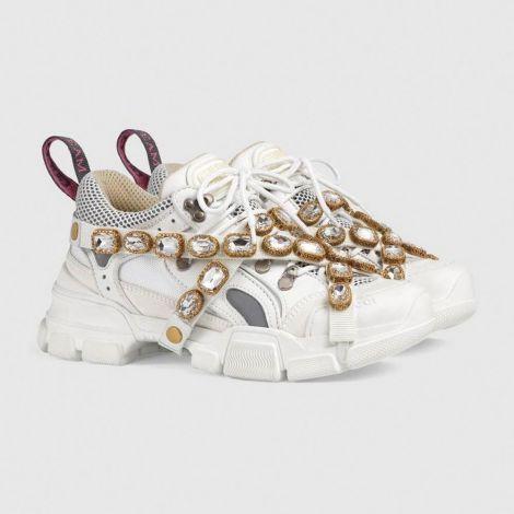 Gucci Ayakkabı Flashtrek Beyaz #Gucci #Ayakkabı #GucciAyakkabı #Kadın #GucciFlashtrek #Flashtrek