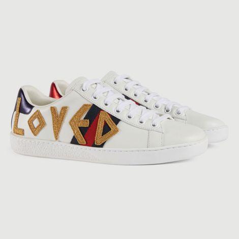 Gucci Ayakkabı Ace Loved Beyaz #Gucci #Ayakkabı #GucciAyakkabı #Kadın #GucciAce Loved #Ace Loved