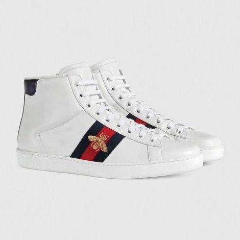 Gucci Ayakkabı Ace Bee Beyaz #Gucci #Ayakkabı #GucciAyakkabı #Erkek #GucciAce Bee #Ace Bee