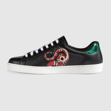 Gucci Ayakkabı Kingsnake Siyah #Gucci #Ayakkabı #GucciAyakkabı #Erkek #GucciKingsnake #Kingsnake