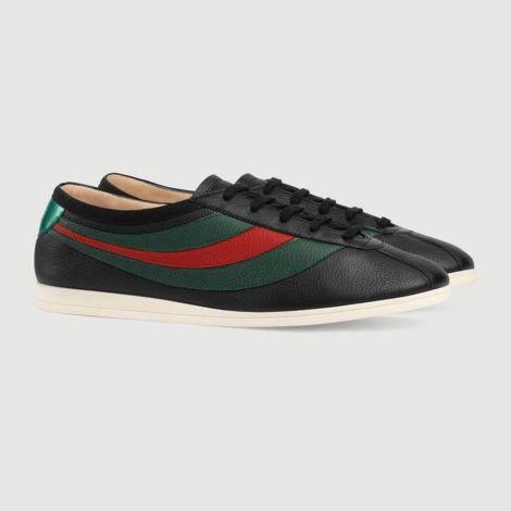Gucci Ayakkabı Ace Leather Siyah #Gucci #Ayakkabı #GucciAyakkabı #Erkek #GucciAce Leather #Ace Leather