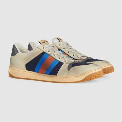 Gucci Ayakkabı Screener Beyaz - Gucci Erkek Ayakkabi Low Top Sneakers For Mens Screener Gg Sneaker Beyaz