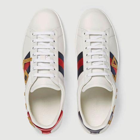 Gucci Ayakkabı Ace Loved Beyaz #Gucci #Ayakkabı #GucciAyakkabı #Erkek #GucciAce Loved #Ace Loved
