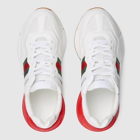 Gucci Ayakkabı Rhyton Beyaz - Gucci Erkek Ayakkabi Sneakers For Mens Rhyton Sneaker Beyaz