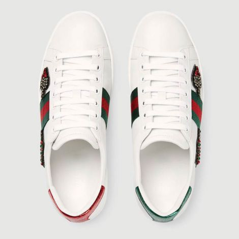Gucci Ayakkabı Ace Arrow Beyaz #Gucci #Ayakkabı #GucciAyakkabı #Kadın #GucciAce Arrow #Ace Arrow
