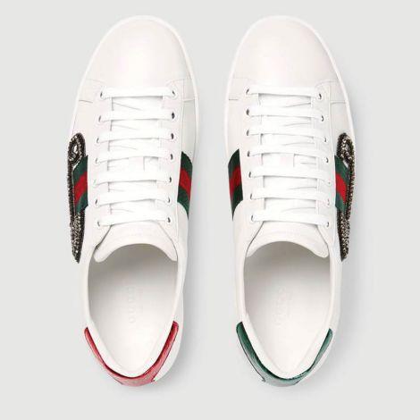 Gucci Ayakkabı Ace Hook Beyaz #Gucci #Ayakkabı #GucciAyakkabı #Kadın #GucciAce Hook #Ace Hook