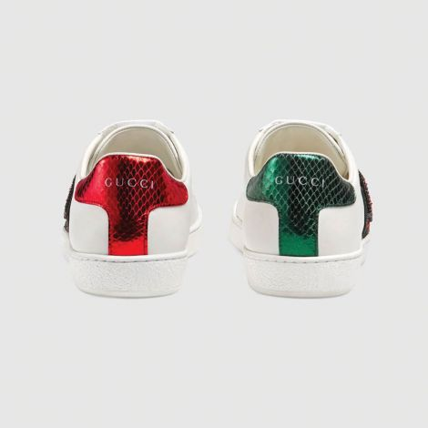 Gucci Ayakkabı Ace Kiss Beyaz #Gucci #Ayakkabı #GucciAyakkabı #Kadın #GucciAce Kiss #Ace Kiss