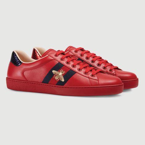 Gucci Ayakkabı Ace Bee Kırmızı #Gucci #Ayakkabı #GucciAyakkabı #Kadın #GucciAce Bee #Ace Bee