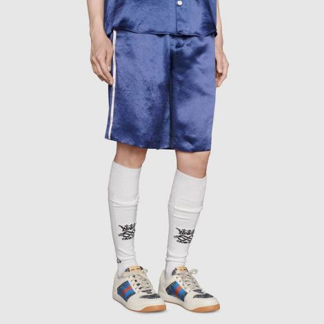 Gucci Ayakkabı Screener Beyaz - Gucci Men Shoes Gg Screener Sneaker Low Top Sneakers Ayakkabi Beyaz