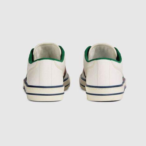 Gucci Ayakkabı Tennis 1977 Beyaz - Gucci Men Shoes Mens Gucci Tennis 1977 Sneaker Ayakkabi Beyaz
