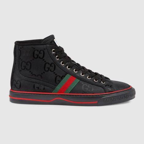 Gucci Ayakkabı Off The Grid Siyah - Gucci Sneaker Ayakkabi Mens Gucci Off The Grid High Top Sneaker Siyah