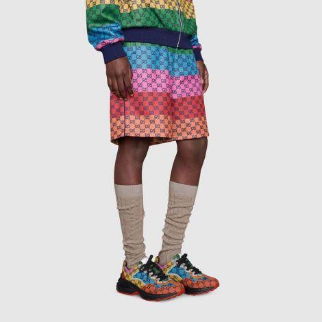 Gucci Ayakkabı Rhyton Renkli - Gucci Sneaker Ayakkabi Mens Rhyton Gg Multicolor Sneaker Kirmizi Renkli