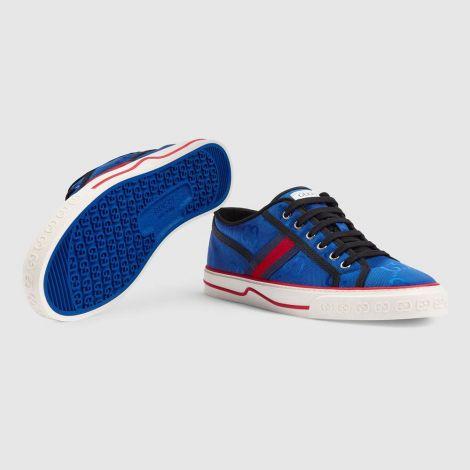Gucci Ayakkabı Off The Grid Mavi - Gucci Sneakers Ayakkabi Mens Gucci Off The Grid Sneaker Beyaz Mavi