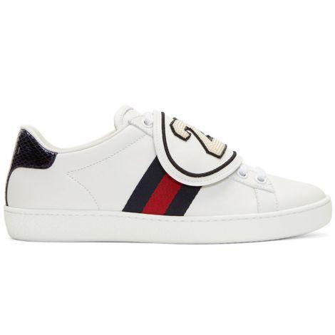 Gucci Ayakkabı Ace Beyaz #Gucci #Ayakkabı #GucciAyakkabı #Kadın #GucciAce #Ace