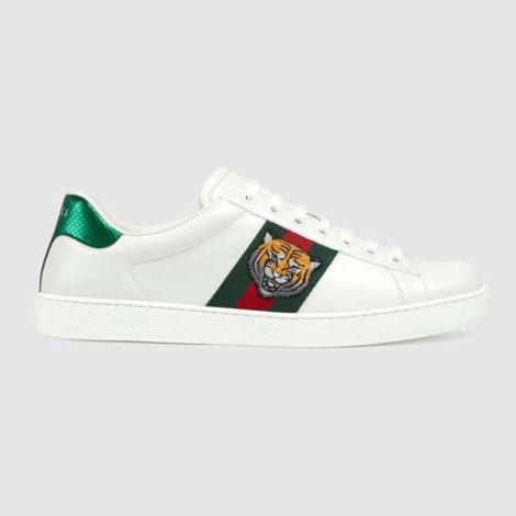 Gucci Ace Tiger Ayakkabı Beyaz - 11 #Gucci #GucciAceTiger #Ayakkabı