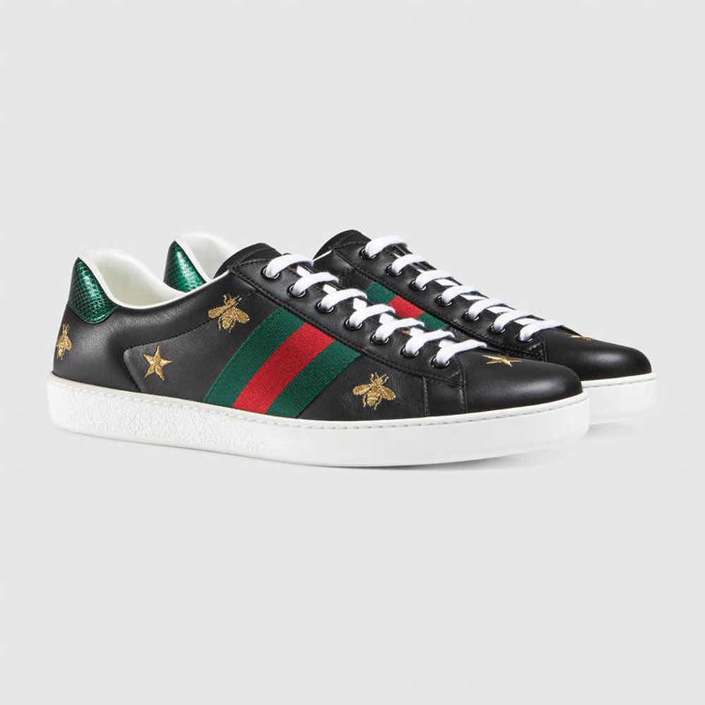 Gucci Ace Bee Star Ayakkabı Siyah - 28 #Gucci #GucciAceBeeStar #Ayakkabı - 2