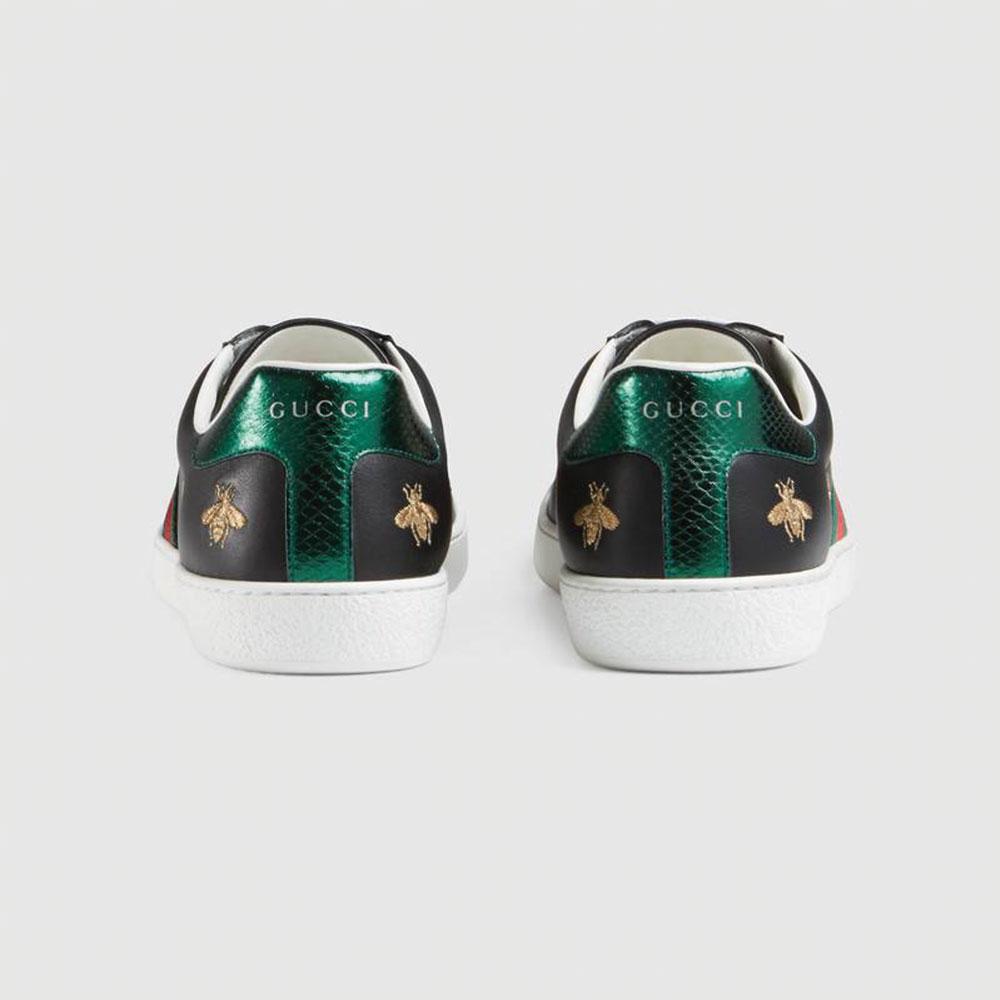 Gucci Ace Bee Star Ayakkabı Siyah - 28 #Gucci #GucciAceBeeStar #Ayakkabı - 4