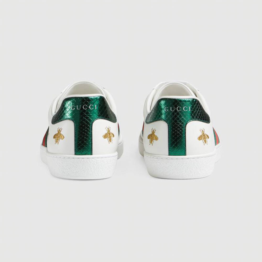 Gucci Ace Bee Ayakkabı Beyaz - 29 #Gucci #GucciAceBee #Ayakkabı - 4