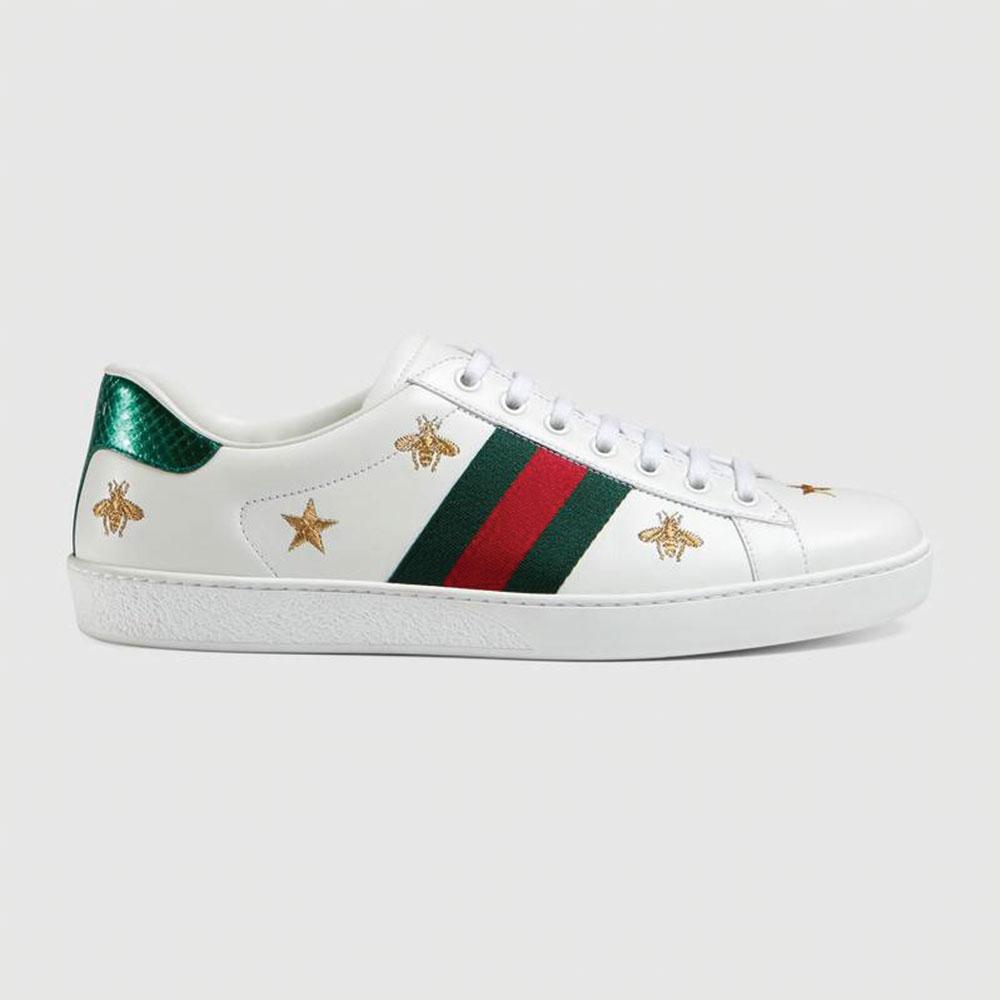 Gucci Ace Bee Ayakkabı Beyaz - 29 #Gucci #GucciAceBee #Ayakkabı