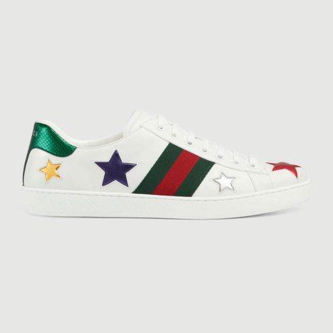 Gucci Ace Star Ayakkabı Beyaz - 20 #Gucci #GucciAceStar #Ayakkabı