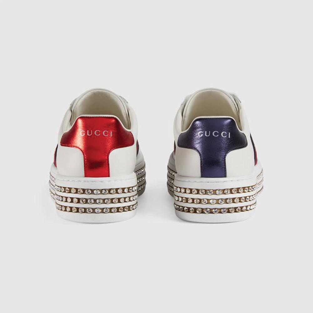 Gucci Ace Bee Ayakkabı Beyaz - 75 #Gucci #GucciAceBee #Ayakkabı - 4