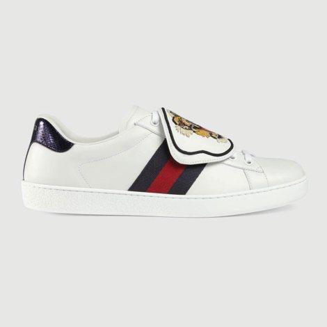 Gucci Ace Patch Ayakkabı Beyaz - 18 #Gucci #GucciAcePatch #Ayakkabı