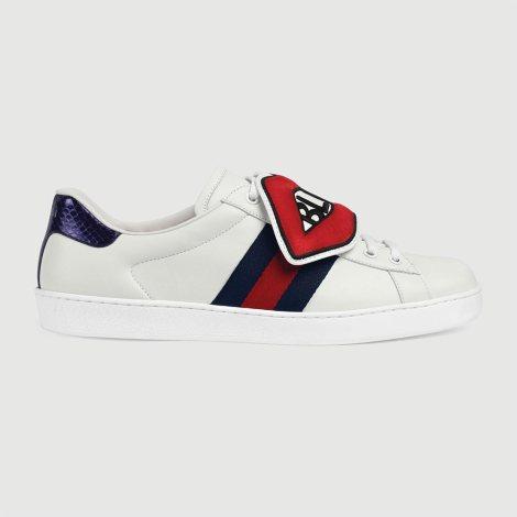 Gucci Ace BFL Ayakkabı Beyaz - 19 #Gucci #GucciAceBFL #Ayakkabı