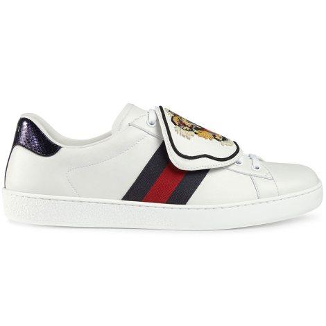 Gucci Ace Patch Ayakkabı Beyaz - 3 #Gucci #GucciAcePatch #Ayakkabı